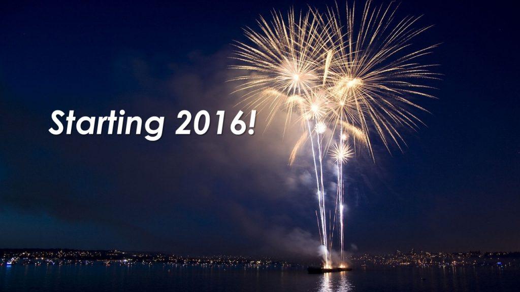 Starting 2016